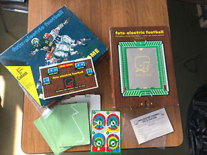1960's Cadaco Foto Electric Football Hall of Fame Game NFL Complete WORKS!