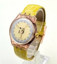 UNIQUE SWISS Vintage AUTOMATIC Watch SWATCH AG1993 Mirror Sun. 23Jewels