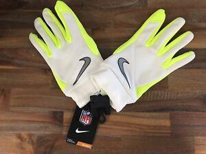 Nike Super Bowl XLVIII NFL Stadium Gloves GF0377 100 Size XL