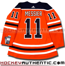 a591f743f MARK MESSIER EDMONTON OILERS HOME AUTHENTIC PRO ADIDAS NHL JERSEY