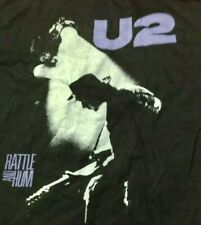 U2 *RARE* VINTAGE 1988 UK TOUR T SHIRT BON JOVI INXS AEROSMITH QUEEN 80'S TEE