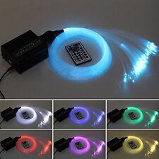 Dewel 16W RGBW LED Fiber optic light Star Ceiling Kit Lights 450pcs 0.75mm 2M