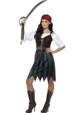 Pirate Deckhand Costume Smiffys Fancy Dress Costume