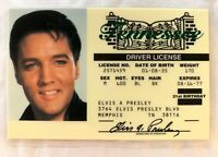 Elvis Presley Drivers License Novelty ID King Rock Music Graceland Memphis Movie