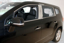 Zubehör für Chevrolet Orlando 2011-2018 Chrom untere Fensterleisten Molding