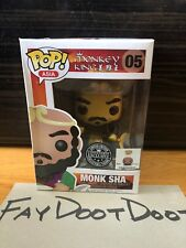 Funko POP! Asia Monkey King Monk Sha Vinyl Toy Figure #05 2014 SDCC Exclusive