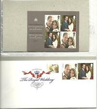 United Kingdom Royal Wedding Of William And Catherine Fdc Souv Sheet Usa S-1987A