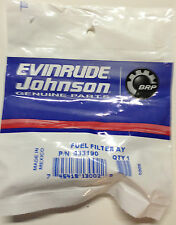 OEM BRP Johnson Evinrude OMC 433190 60 degree Fuel Filter 90 115 150 175, 765553