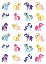20 My Little Pony Water Slide Nail Decals 20 Asst. Designs Pony Nail Decals Cute