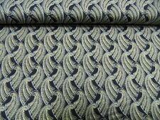 "tela patchwork de Makower ""Gatsby SCENIC"" - All Over 100% BW 50 x 110cm"