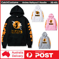 Anime Haikyuu!! Karasuno High School Volleyball Club Hoodie Pullover Sweatshirt