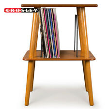 Crosley ST66-AC Manchester Entertainment Center Stand - Acorn For Vinyl Records