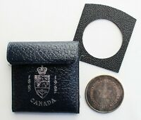 1867-1967 Canada Confederation Silver Medal Token in Original Leatherette Case