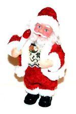 Santa Claus Weihnachtsmann mit Kerze Figur Weihnachtsdekoration Mit Musik