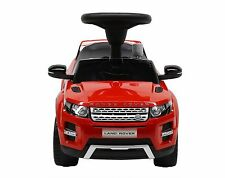 Liscensed Land/Range Rover Push Ride on Car for Kids Baby Racer Red
