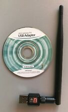 Wireless USB WiFi Adapter Dongle Network LAN Card 802.11b/g/n W/5dbi Antenna