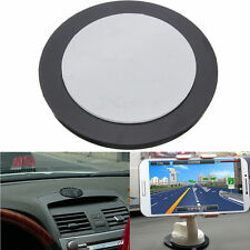 Dashboard Mount Holder Plate Adhesive Disc For Car GPS Garmin Tomtom Bracket