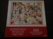 """Gibson """"Christmas Market Square"""" 550 Piece Puzzle"""