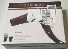 Chi Deep Brilliance Salon Hair Blow Dryer Purple New Opened Box