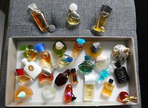 Parfum - MINIATUREN - SAMMLUNG - 25 Stück