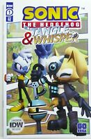 IDW SONIC THE HEDGEHOG TANGLE & WHISPER #1 SDCC Re Variant NM Ships FREE!