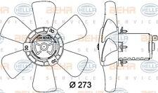 HELLA 8EW 009 144-401 FAN RADIATOR FITS VW GOLF II (19E) WHOLESALE PRICE