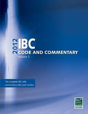 2012 IBC Code and Commentary Volume 2