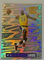 2019-20 PANINI BASKETBALL SILVER STICKER LEBRON JAMES #361 Los Angeles LAKERS