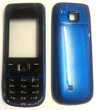 NUOVO!! BLU Alloggiamento / Fascia / Coperchio / Custodia per Nokia 2700C / 2700 Classic