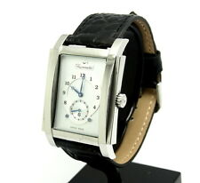 Mens Swiss FACONNABLE PONTE Stainless Steel Rectangle Watch FBR00894