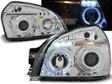 Paire de feux phares Hyundai Tucson 2004 a 2010 angel eyes chrome