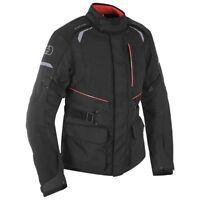 Oxford Metro 1.0 Tech Black Waterproof Motorcycle Motorbike Jacket TM172101
