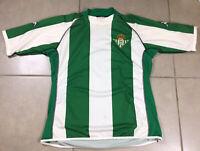 Vtg Men's Real Betis 2003/04 Sz S Small Home Soccer Jersey Large Kappa La Liga