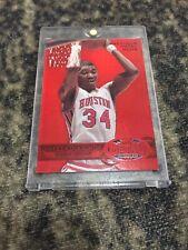 2011-12 Hakeem Olajuwon Fleer Retro Precious Metal Gems PMG Red 85/150 Rare