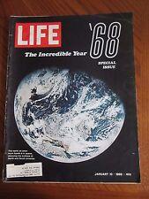 Life Magazine The Incredible Year '68 January 1969