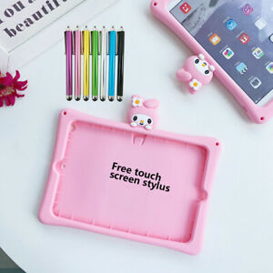 """Cute 3D Cartoon Melody Silicone Stand Case Cover For iPad 2 3 4 9.7"""" 2017 / 2018"""