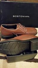 Bostonian 'Kopper Max' Men's Brown Leather Apron Toe Oxford Size 8 M 25887 095