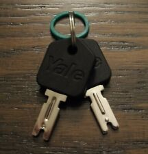 Rubber Coated Forklift Key Set 2 Yale Hyster Crown Clark Daewoo Gradall Jlg Cat