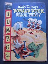 1956 Walt Disney's Donald Duck Beach Party BP2 JUMBO COMIC (Australian Printing)