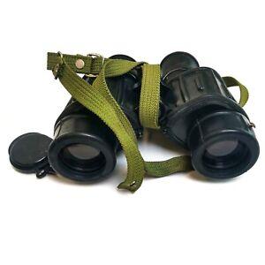 Original Romanian army IOR 7x40 binoculars Military rubberized optics