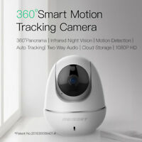Meisort V11 Wifi IP Camera 1080P Night Vision Webcam Auto Tracking Home Security
