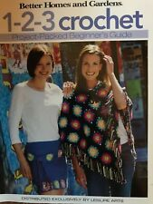 Better Homes and Gardens 1-2-3 Crochet Beginner's Guide & Patterns