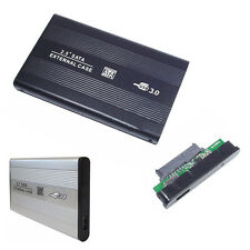 "BOX ESTERNO PER HARD DISK SATA 2,5"" USB 3.0 CASE HD DRIVE PER PC DISCO PORTATILE"