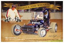 BILL WIGZELL ROWLEY PARK SPEEDWAY  Poster Art Print 90cm  x 60cm