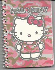 Sanrio Hello Kitty Spiral Notebook Glitter Cover