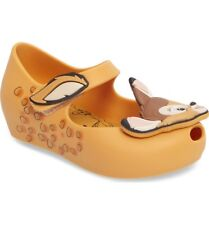Mini Melissa Ultragirl Bambi girl's CARAMEL shoes - toddler size 10 US NEW
