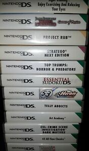 NINTENDO DS GAMES DS GAMES  ALL PLAY ON DS DS LITE  DSI 2DS 3DS  QUICK DISPATCH