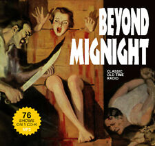Beyond Midnight - 76 OTR Horror Shows on CD-R Old Time Radio MP3s