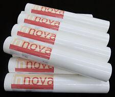 93807-3-) 12 Rollen moderne Vinyltapeten in weiß mit feiner Struktur