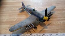 HAWKER TYPHOON 1/48 SCALE PRO BUILT SPARES OR REPAIR MISSING PROP BLADE